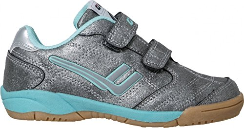 Killtec Gweny Jr Sport- und Freizeitschuh 27687-00197 Silber/Light Turquoise, Gr. 27-40, Wechselfußbett, Kinder Größen:38, Farben:Silber