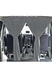 Volkswagen T3 T4 Multivan Transporter Caravelle Cortinas color: gris separaci/ón cabina del conductor