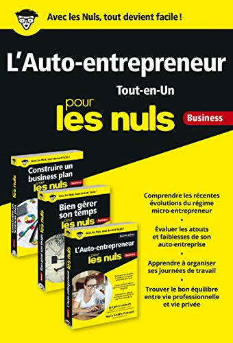 Lauto-entrepreneur Tout-en-Un pour les Nuls