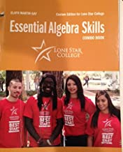 Essential Algebra Skills Combo Book - Lone Star College