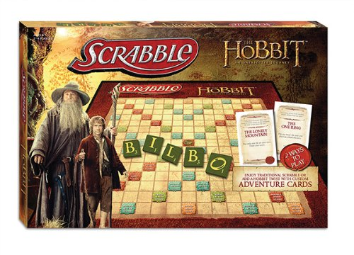 MONOPOLY: The Hobbit Scrabble Board Game - USAOPOLY [Reino Unido]