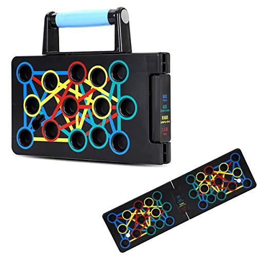 shimytop Push Up Rack Board, Tabla de Flexiones 24 en 1 Gym...