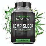 Hemp Natural Sleep Aid - Natural Sleeping Pills - Sleep Aids for Adults - Tranquil Sleep - Time Release Melatonin - Lemon Balm - L Theanine - Sleep Aids for Adults Extra Strength - HEMPSLEEP