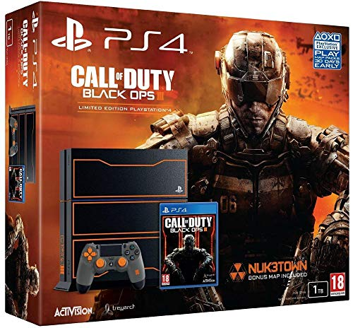 Console PS4 1 To + Call Of Duty: Black Ops 3 -...