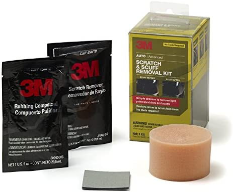 3M Auto Advanced Scratch and Scuff Removal Kit