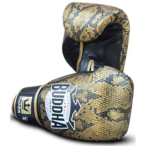 Buddha Sports GGUSOR_10 Handschuhe, Unisex, Erwachsene, Gold/Schwarz, Unzen