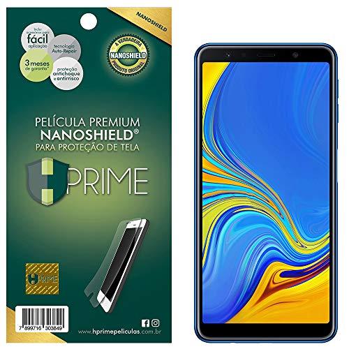 Pelicula NanoShield para Samsung Galaxy A7 2018, HPrime, Película Protetora de Tela para Celular, Transparente