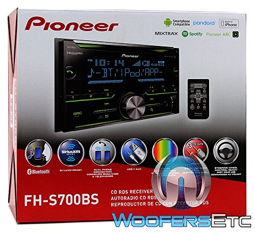 Pioneer Double DIN CD Receiver with Enhanced Audio Functions, Improved Pioneer ARC App...