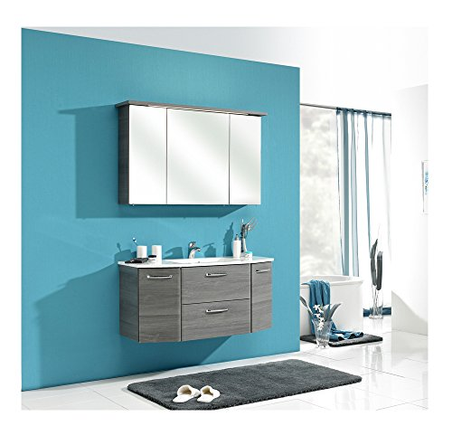 Pelipal Badezimmer-Möbel Graphitgrau
