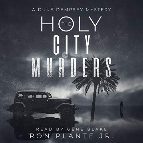 Page de couverture de The Holy City Murders