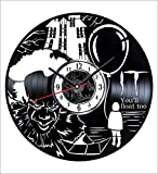 Stephen King It Wall Clock Vintage Record -...