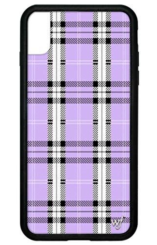 Wildflower Limited Edition Cases Compatible with iPhone Xs Max (Lavender Plaid)
