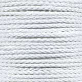 Hollow Braid Polypropylene Rope (5/16 Inch, 500 Feet, White) - Barrier Rope - Trail Marking, Crowd Control, Golf Courses