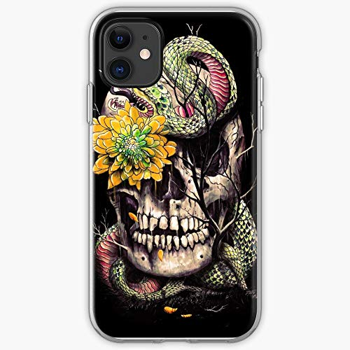 Skull Animals Watercolor Bones Trees Tattoo Snake Nature | Phone Case for iPhone 11, iPhone 11 Pro, iPhone XR, iPhone 7/8 / SE 2020