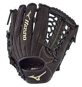 "Mizuno GMVP1275P3 MVP Prime Outfield Baseball Gloves, 12.75"", Right Hand"
