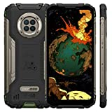 DOOGEE S96 PRO Outdoor Handy, 8GB RAM 128GB ROM, IR Nachtsicht,Helio G90,48MP AI Quad Kamera, 6.22 Zoll Smartphone Ohne Vertrag, Android 10 IP68 Wasserdichter,6350 mAh Kabellose Ladung, NFC GPS (Grün)