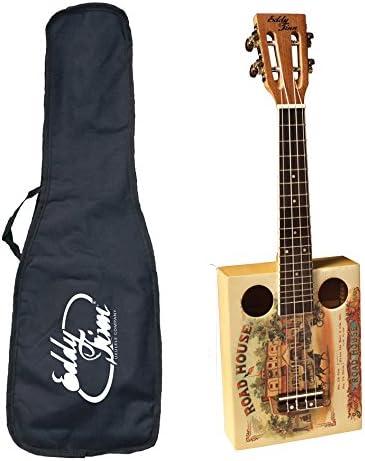 Eddy Finn EF-CGBX-1 Popular products Cigar Box Gig with Bag Great interest Ukulele