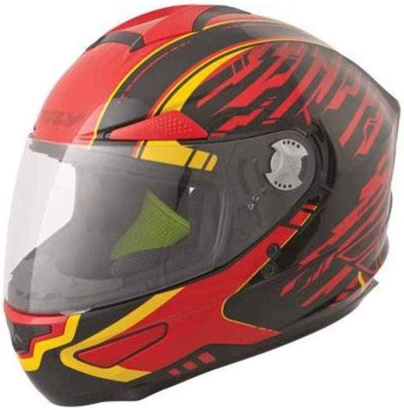 Fly Racing Ranking TOP12 Luxx Shock Helmet Spring new work Yellow Small Red Black