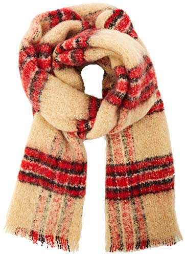 Scotch & Soda dames Checked Wool Scarf sjaal
