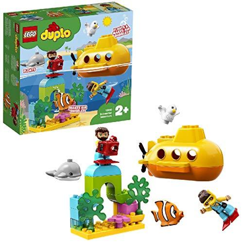 LEGO®-DUPLO® L'aventure en sous-marin Jouet de Bain Éducatif pour...