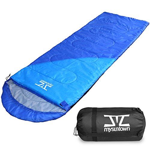 mysuntown Camping Sleeping Bag - Waterproof and Lightweight Adult Sleeping Bag, Great for Outdoor Hiking Traveling