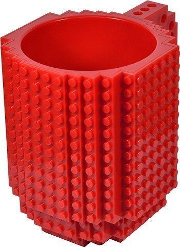 AWESOME Building Brick Mug - Red