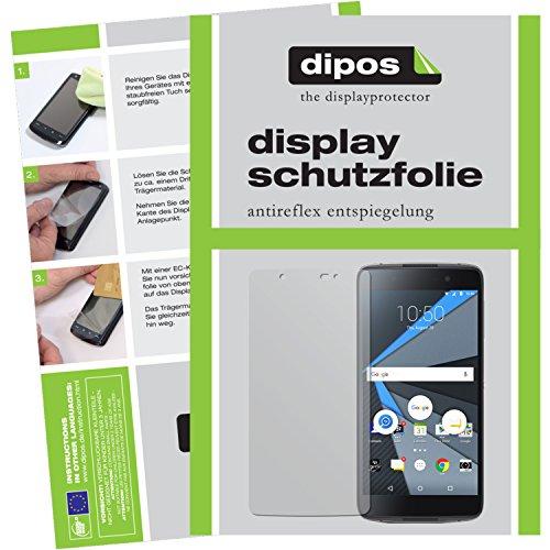 dipos I 6X Schutzfolie matt kompatibel mit BlackBerry DTEK50 Folie Bildschirmschutzfolie