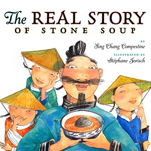 The Real Story of Stone Soup audiobook cover art