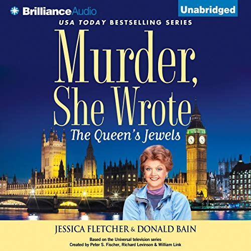 Murder, She Wrote: The Queen's Jewels audiobook cover art