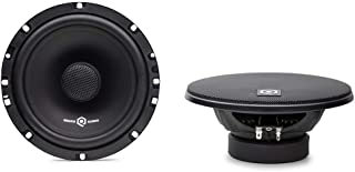 SoundQubed QSX-652 Coaxial Speakers - 6.5 Car Speakers (Pair) – Professional 6.5 Coaxial Speakers - Two-Way Full-Range Audio Door Speakers for Car
