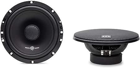 SoundQubed QSX-652 Coaxial Full-Range Car Audio Door Speaker Pair (6.5 inch)