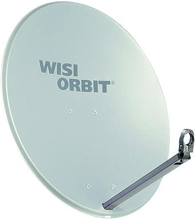 WISI OA38G - Antena parabólica para DVB-T (37 dB), color gris