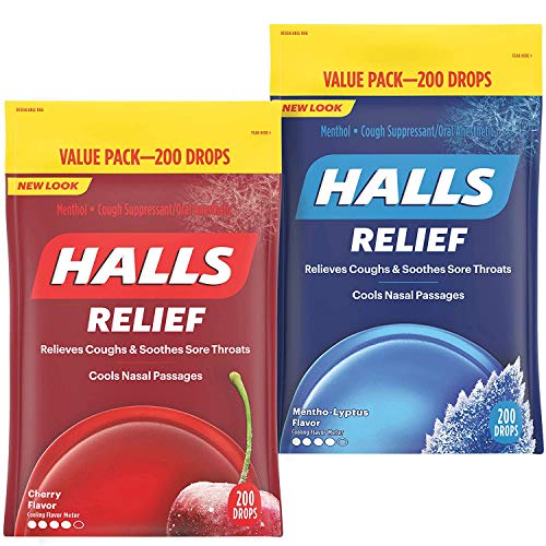 HALLS Relief variety pack
