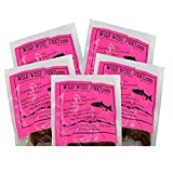 BEST Fresh Wild Caught King Smoked Salmon Tasty Savory Deliciousness 2 OZ. Jerky – Natural...