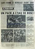 EQUIPE (L') [No 11116] du 08/02/1982 - ST-ETIENNE ET BORDEAUX JOUENT SERRE - RUGBY - DELCOURT - NATATION - ATHLETISME - ITALIE - BASKET - CYCLISME - LE PAVOIS - ESCRIME - HAND - TENNIS - NOAH ET TULASNE - TENNIS DE TABLE - VOLLEY.