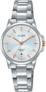 Alba Stainless Steel Casual Watch For Women , AH7M05X