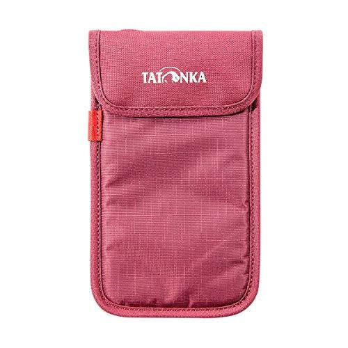 Tatonka Smartphone Case XXL Tasche, Bordeaux red, 11 x 18,5 x 1 cm