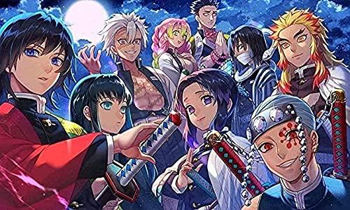Japanse anime klassieke puzzelpuzzels 1000 stukjes, educatieve spellen Geweldig puzzelspel Diy Stress Reliever Gift