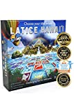 Latice Hawaii Strategy Board Game - The Remarkable Multi-Award-Winning Smart New Family Game. Intelligent Fun for Creative People.
