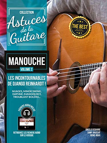 Astuces De La Guitare Manouche - Volume 2 Django Reinhardt (Book/CD). Für Gitarre