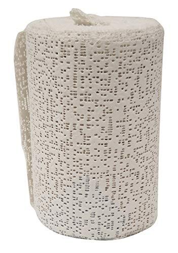 Plaster of Paris Gauze Bandages | Craft Molds for Pregnancy Belly Cast, Paper Mache Sculpture, or Face Wrap | Gypsum Clay Paste - 12 Casting Rolls