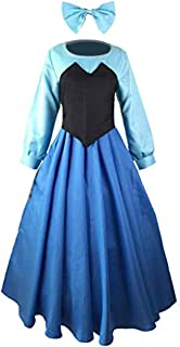 Womens' The Little Mermaid Ariel Cosplay Dress Princess Party Ball Gown Costume