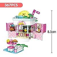 モデルビルディングブロック Loz Mini Blocks Friends Amusement Park Ferris Wheel Carousel Pirate Ship海賊船ビルディングブロックDIYレンガのおもちゃの女の子のためのおもちゃ (Color : No original box(29))