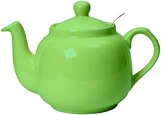 London Pottery Traditional 6 Cup Farmhouse Filter Teapot Green 1.4L