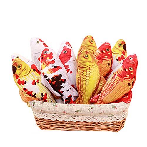 Soulitem 16/30/60 cm Kinder Plüschtiere Karpfen Fisch Kissen Tier Weiche Stoffpuppen Lustige Kinder Spielzeug Mädchen Jungen Geburtstagsfeier Geschenke
