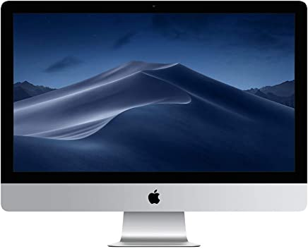 Apple iMac (27-inch Retina 5K display, 3.0GHz 6-core 8th-generation Intel Core i5 processor, 1TB) (Latest Model)