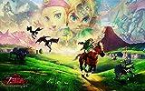 Luyshts 1000 pcs Puzzle para Adultos Juegos The Legend of Zelda: Breath of The Wild ntellectua lanzado niños decoración del Puzzle decoración Rompecabezas