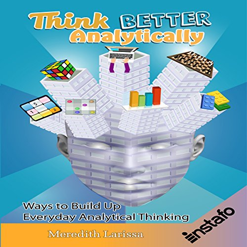 Think Better Analytically audiobook cover art