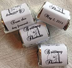 personalized candy wrapper labels
