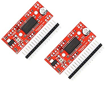 TECNOIOT 2pcs A3967 EasyDriver Stepper Motor Driver V44 Development Board